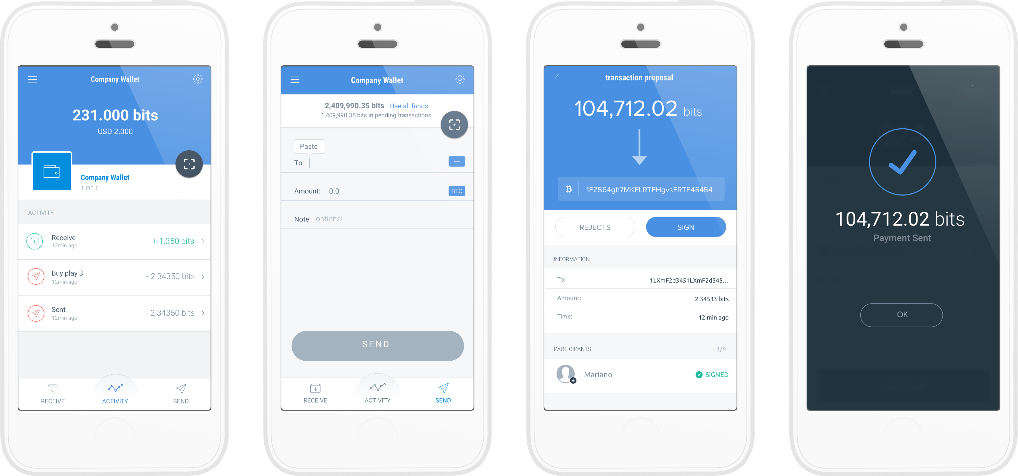 Better Backup Verification And A New Wallet Look In Copay 1 6 1