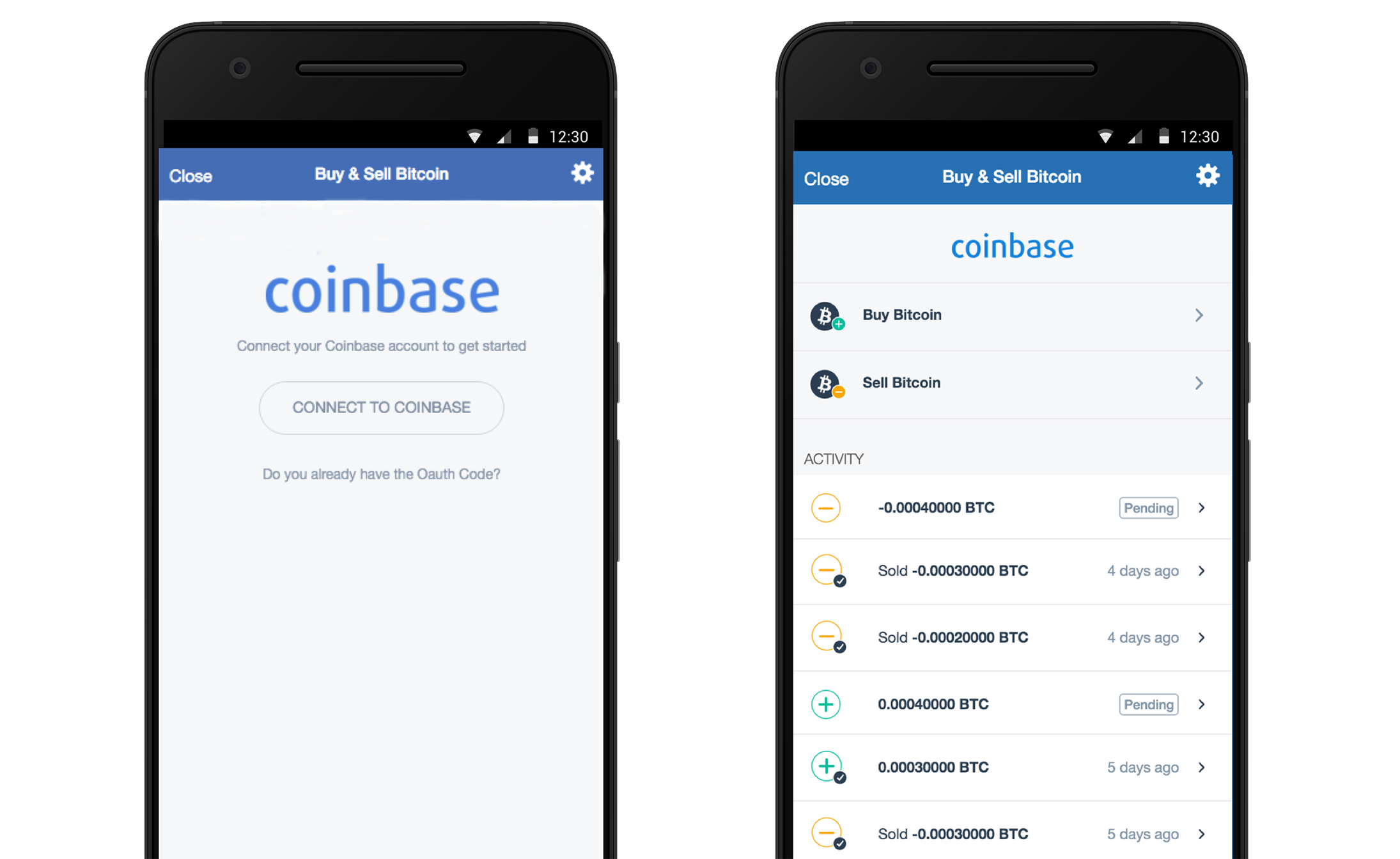 Buy and sell bitcoin in copay with your coinbase account coinbase allows users to hold bitcoin sell it or purchase it with debit cards bank accounts or credit cards ccuart Images
