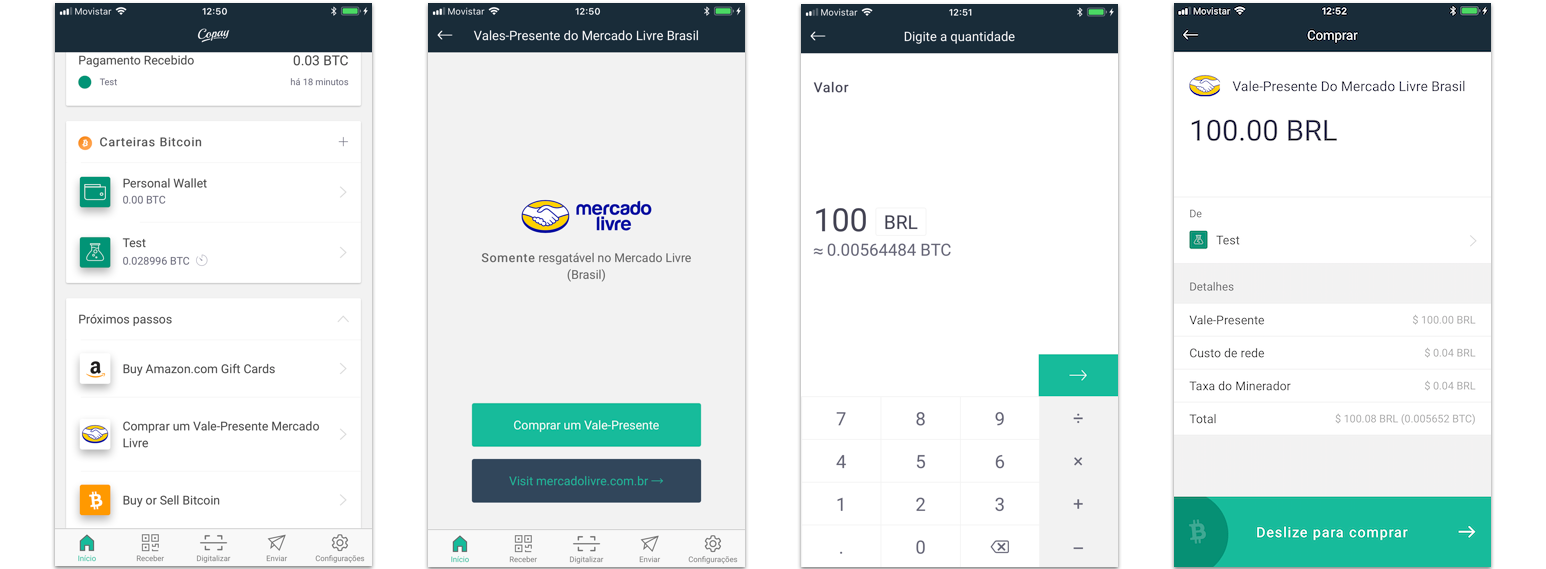 Bitpay And Copay Wallet Users In Brazil Can Now Buy Mercado Livre