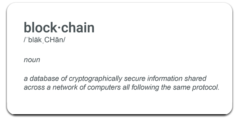 Blockchain-Definition