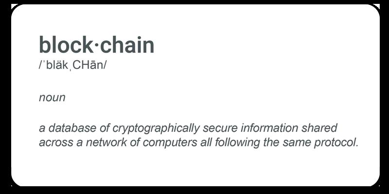 Blockchain-Definition