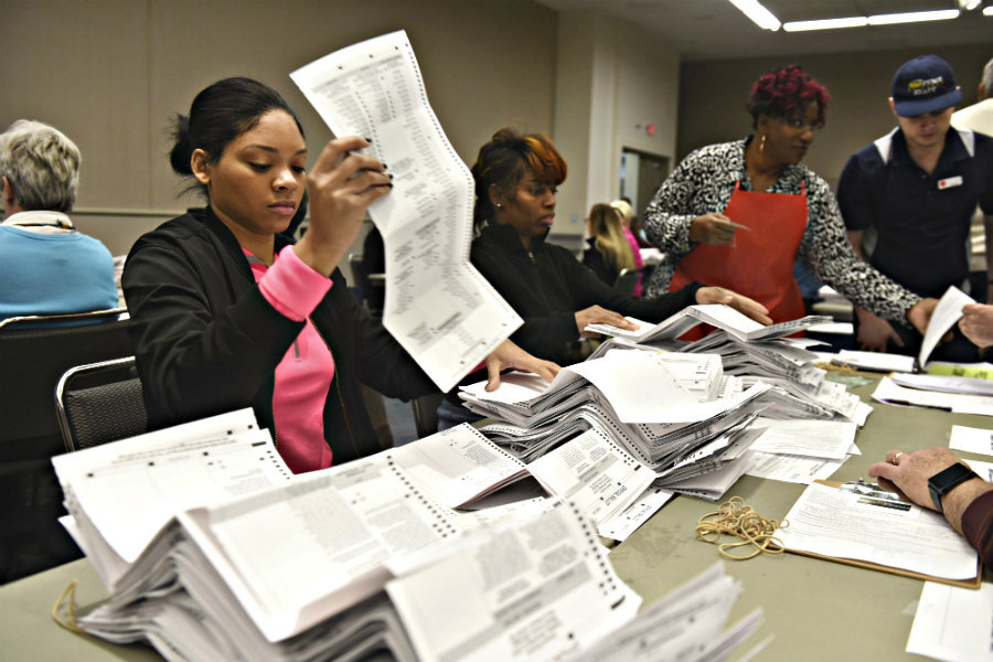 recounts are one of the many challenges that political consensus faces