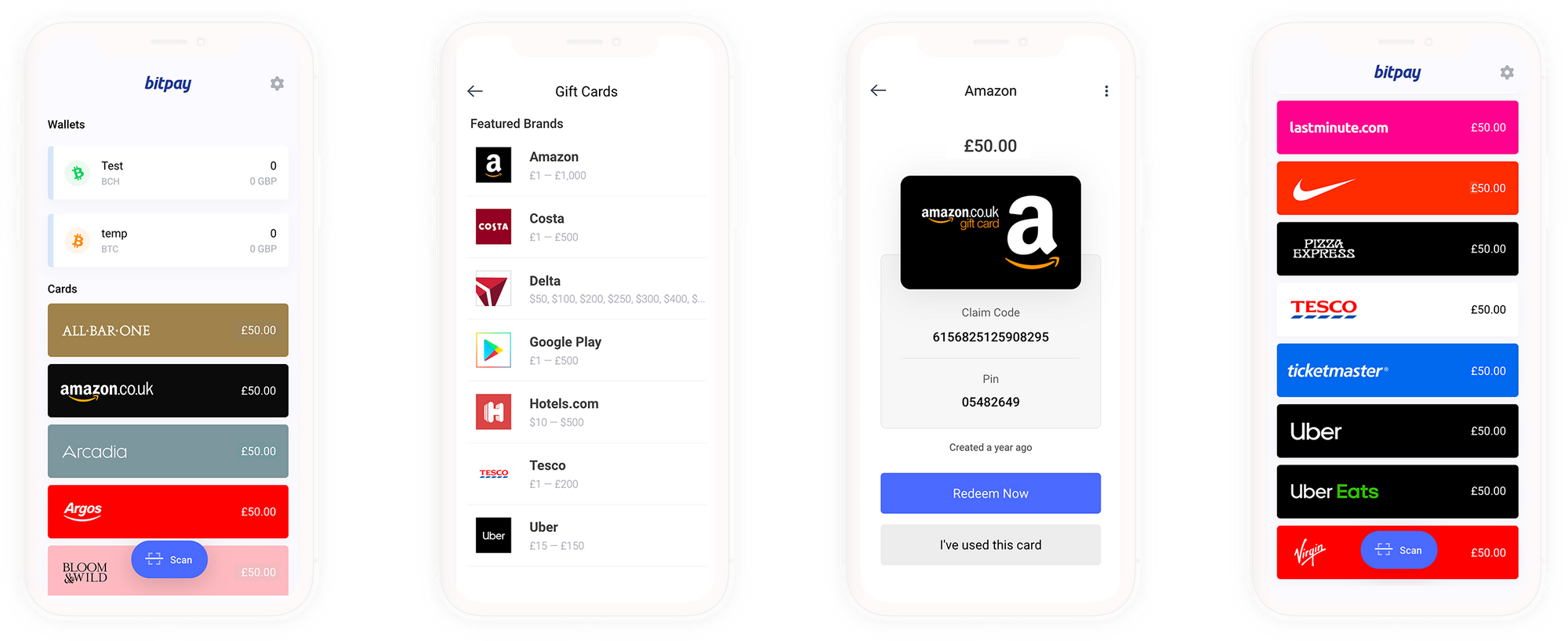 You Can Now Buy UK Gift Cards with the BitPay App
