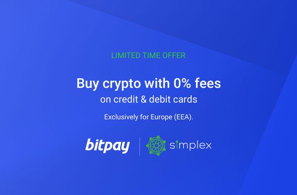 Attention Europe: Buy Crypto with No Credit Card Fees